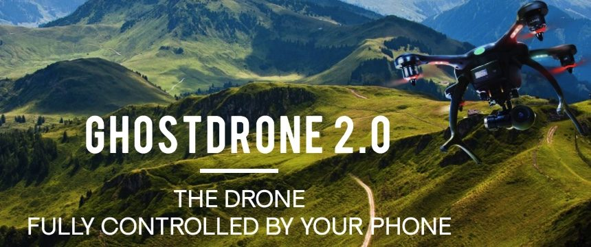 GHOSTDRONE2.0 Test Flight with EHANG