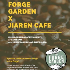 Support Sustainability! SCU's Forge Garden Fundraiser with Jiaren Cafe